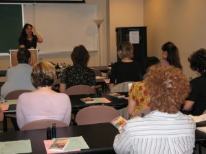 ASU workshop attendees learn to make scents at work by creating their own Aromatherapy products